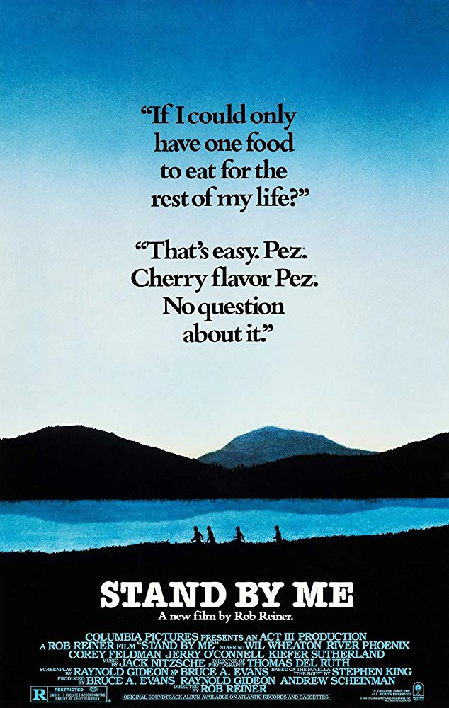 movie poster stand by me