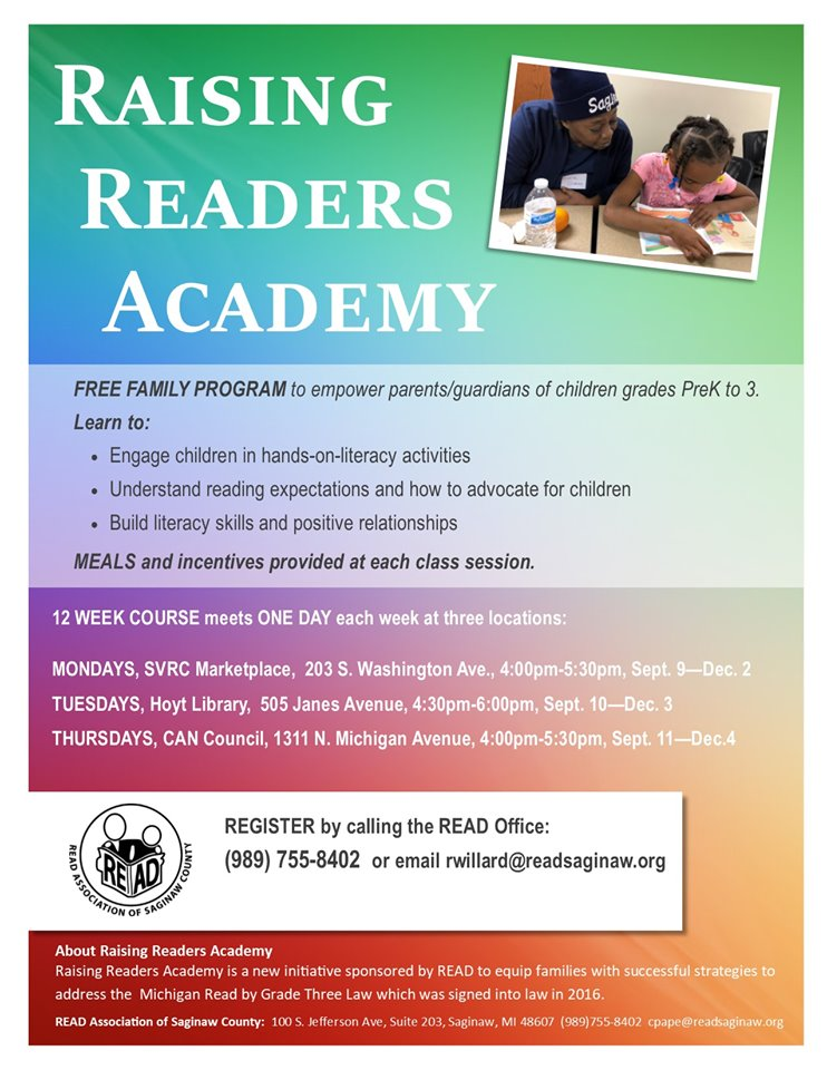 raising readers poster
