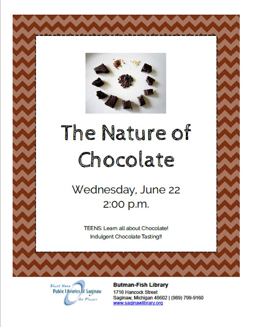 Image for Discover the Nature of Chocolate at Butman-Fish Library