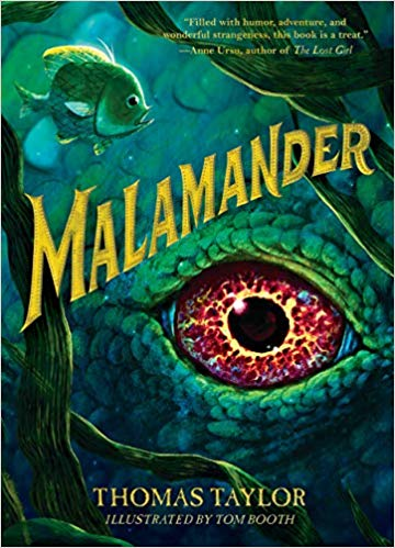 Cover of the book Malamander by Thomas Taylor.