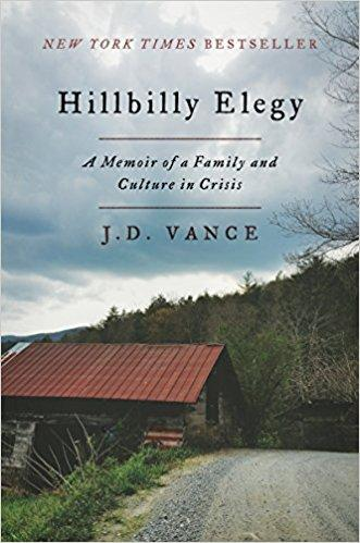 Image for Hillbilly Elegy: A Memoir of a Family and Culture in Crisis by J.D. Vance