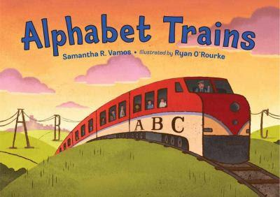 Image for Alphabet Trains by Samantha R. Vamos