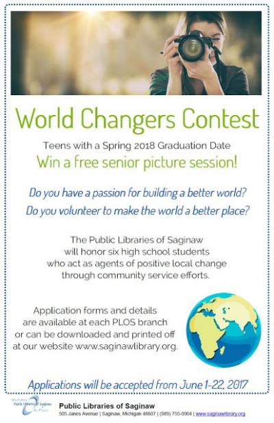 Image for Nominate a World Changer