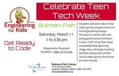 Image for Celebrate Teen Tech Week - - Get Ready to Code!
