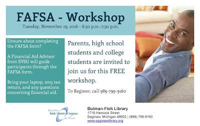 Image for FAFSA - Workshop