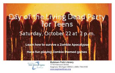 Image for Day of the Living Dead Party for Teens