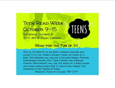 Image for Teen Read Week