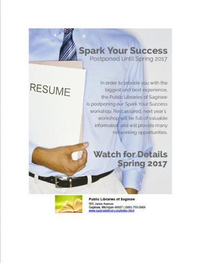 Image for Postponed - - Spark Your Success