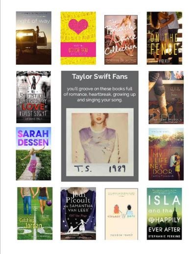 Image for Do you like Taylor Swift? Check out these #Swifty books!