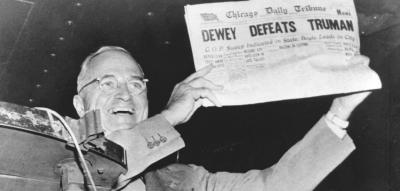 Dewey Defeats Truman Photo