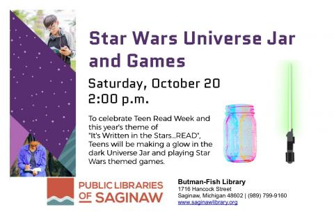 Star Wars Universe Jar and Games