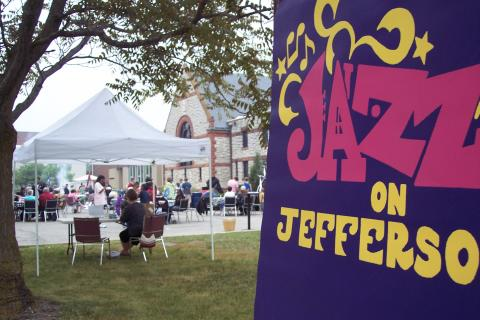 photo of jazz on jefferson banner