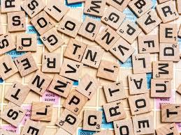 Scrabble Board Game Pieces